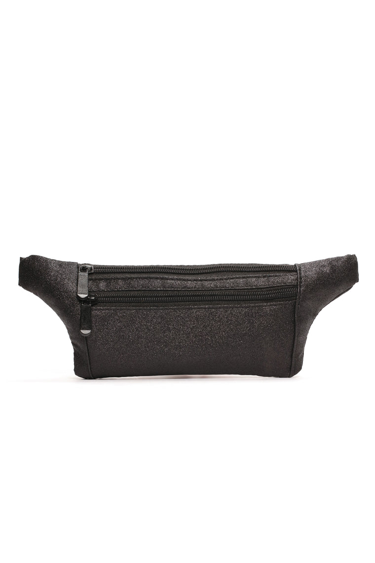 Sparks Flying Fanny Pack - Black