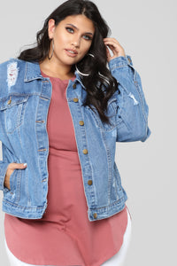 It'z Fray Fray Jacket - Medium
