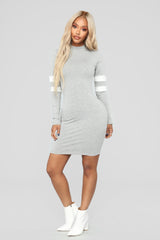 varsity-blues-dress---heather-grey by fashion-nova