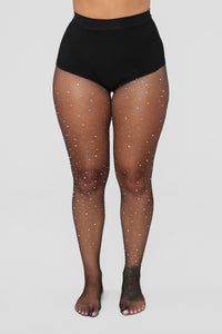 Show Stopper Fishnets - Black