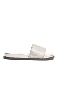 Glam You Up Slide - Silver