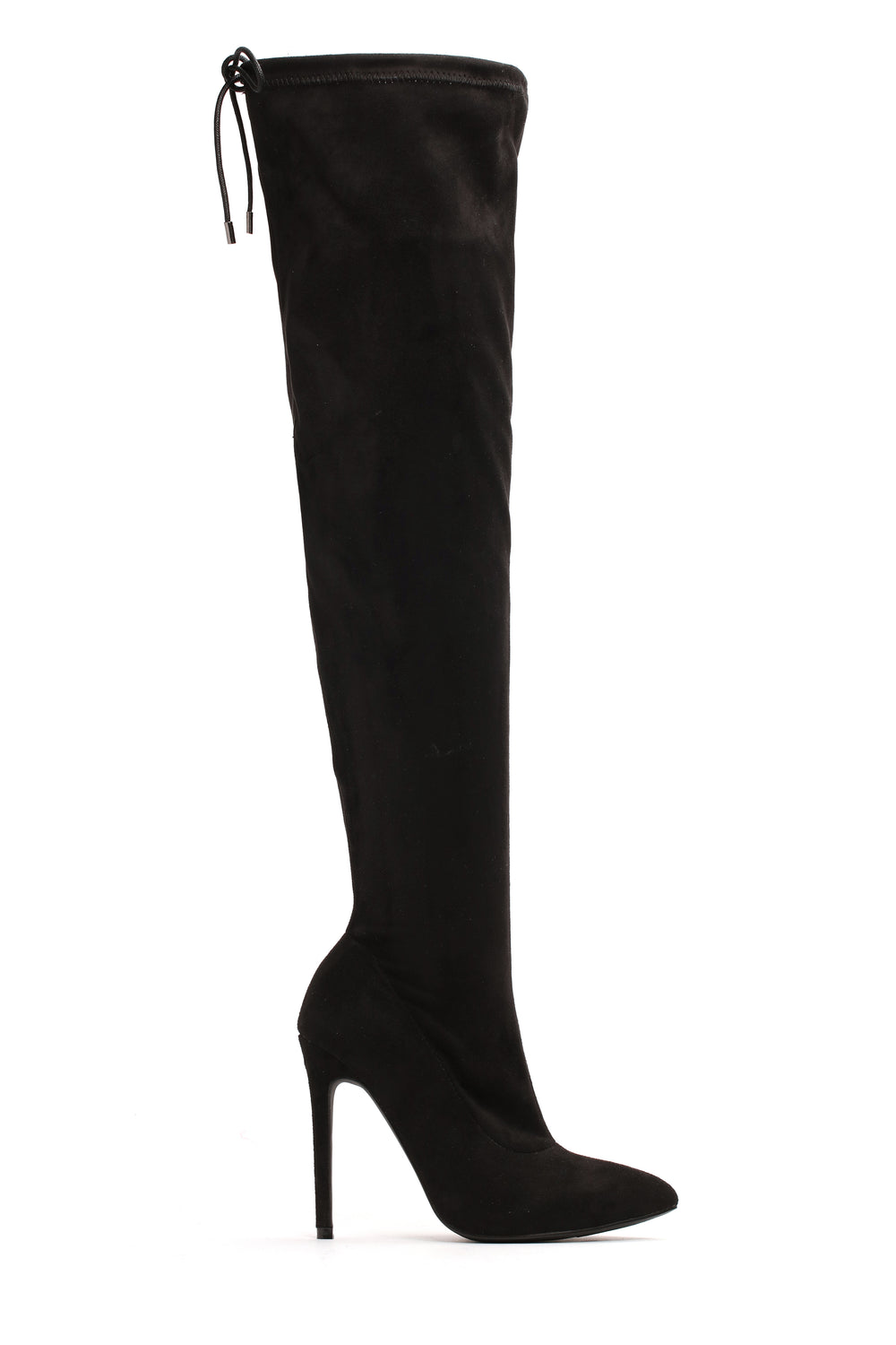 You're Not Ready Heeled Boot - Black