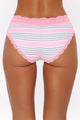 Waist No Time Lace Hipster Panty - Pink/combo
