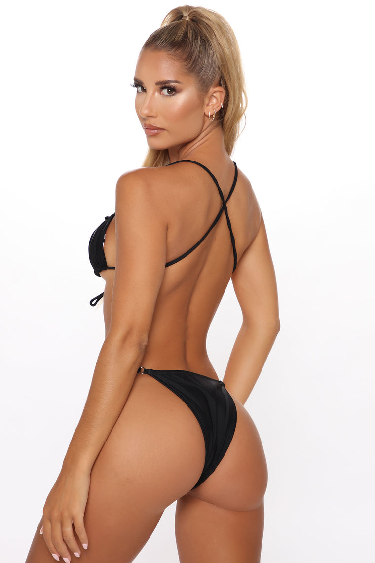 Staycation 2 Piece Bikini - Black