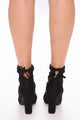 The Little Things Booties - Black