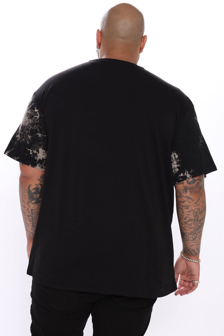 Paradise And Money Short Sleeve Tee - Black/combo