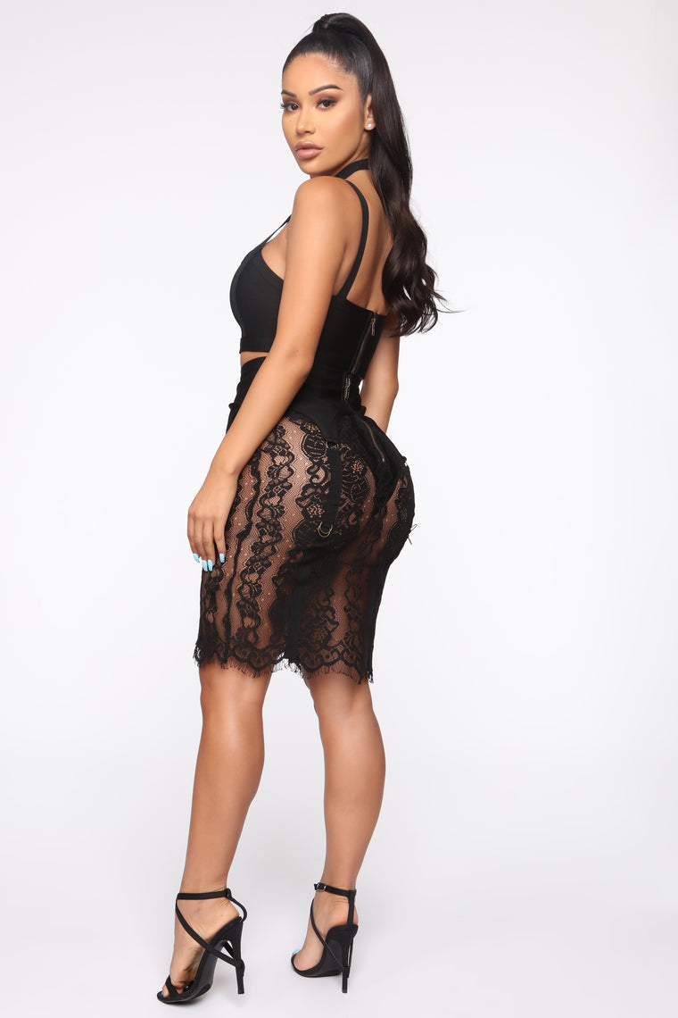 Turning Heads And Breaking Necks 3 Piece Set - Black