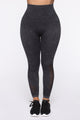 Life's A Climb Active Legging - Charcoal