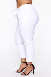 Booked And Busy Pants - White Angle 10