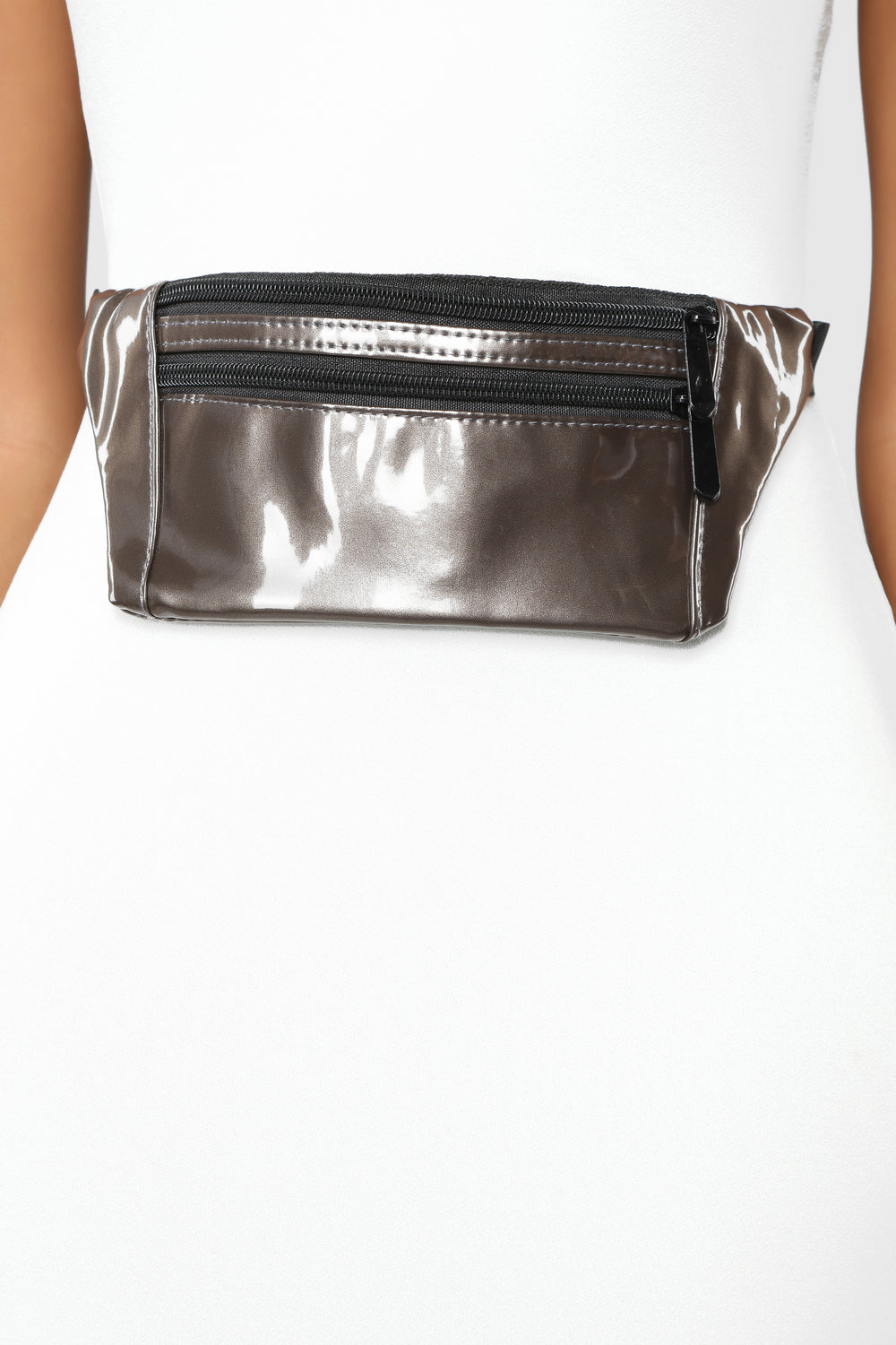 Pat On The Back Fanny Pack - Charcoal