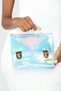 See Right Through You Crossbody - Iridescent