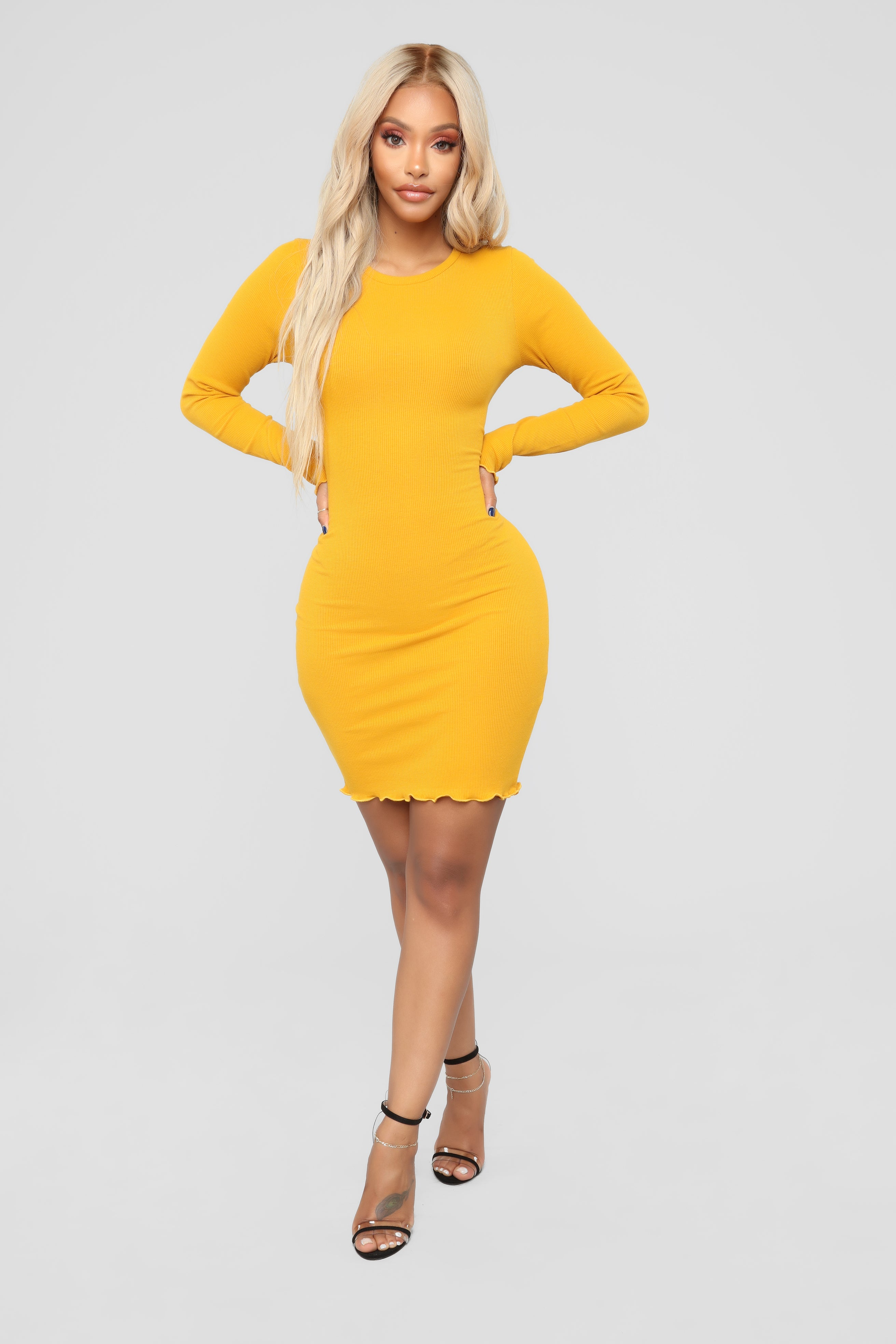 884ca44f8c00 https   www.fashionnova.com products varsity-blues-dress-mustard ...