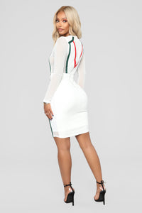 They Got Nothin' On Me Dress - White