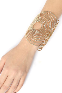 All Wired Cuff Bracelet - Gold