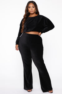 In My Feels Pant Set - Black Angle 9