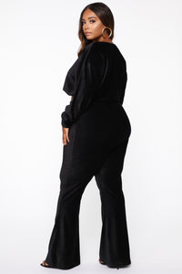 In My Feels Pant Set - Black Angle 13