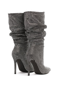 Good Life Heeled Boot - Black