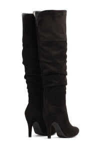 She's The One Heeled Boot - Black