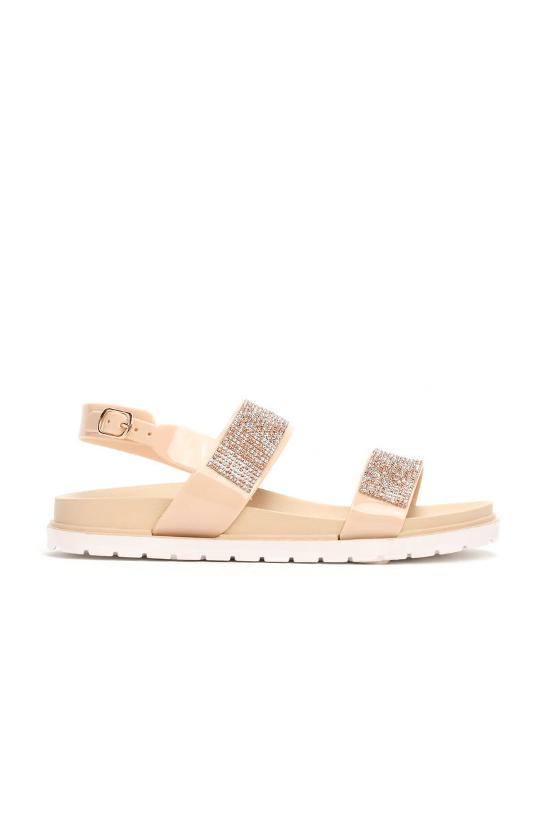 Too Bad Moving On Slides - Beige