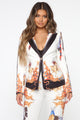 Old Town Babe Blazer Set - White/combo