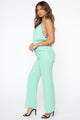 Karissa Cut Out Jumpsuit - Mint