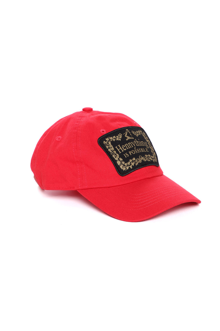Hennything Is Possible Dad Hat - Red