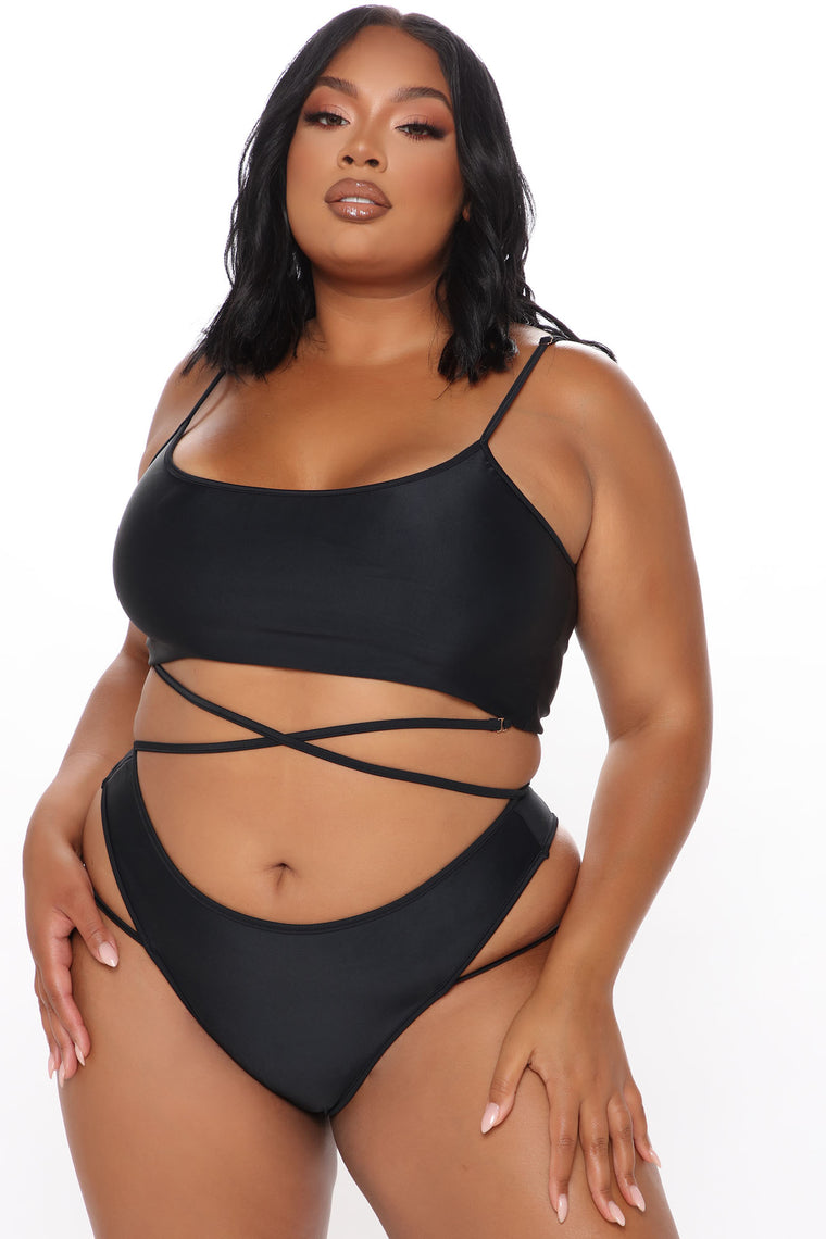 Sweet Summer Nights 2 Piece Bikini - Black