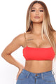 Chained With Love Top - Red