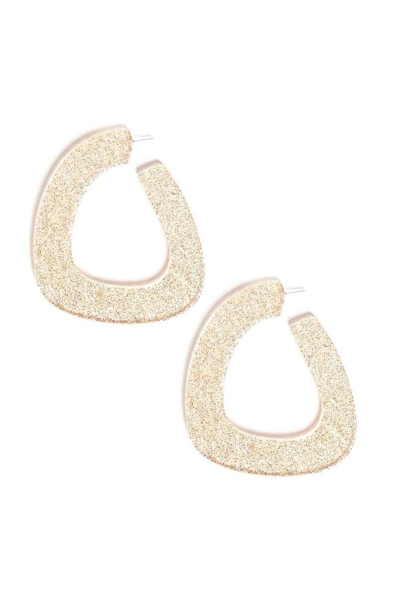 Not Like The Rest Hoop Earrings - Gold