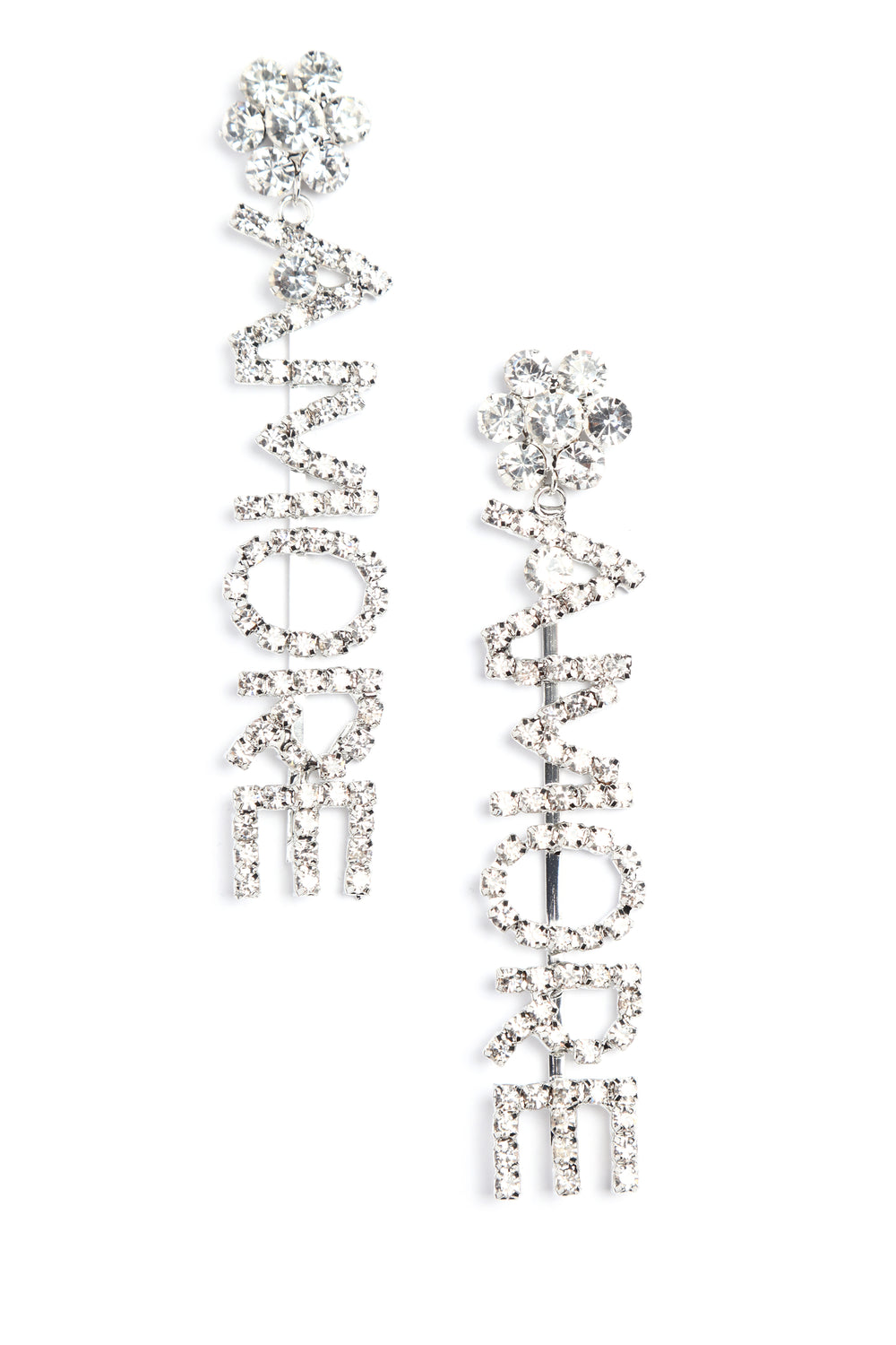 All About Amore Earrings - Silver