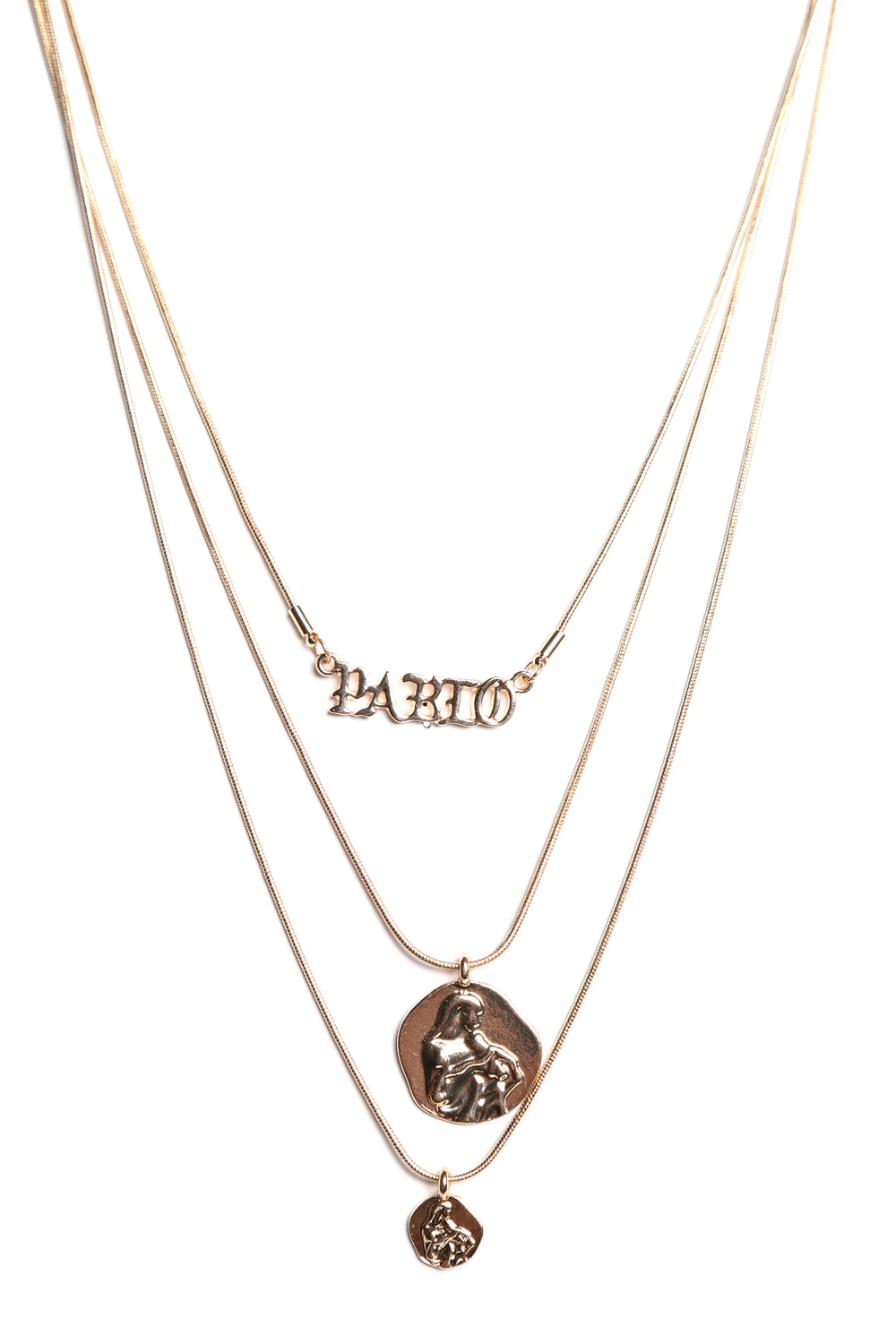 The Wife Of Pablo Necklace - Gold