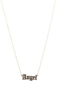 Angel From Heaven Necklace - Gold