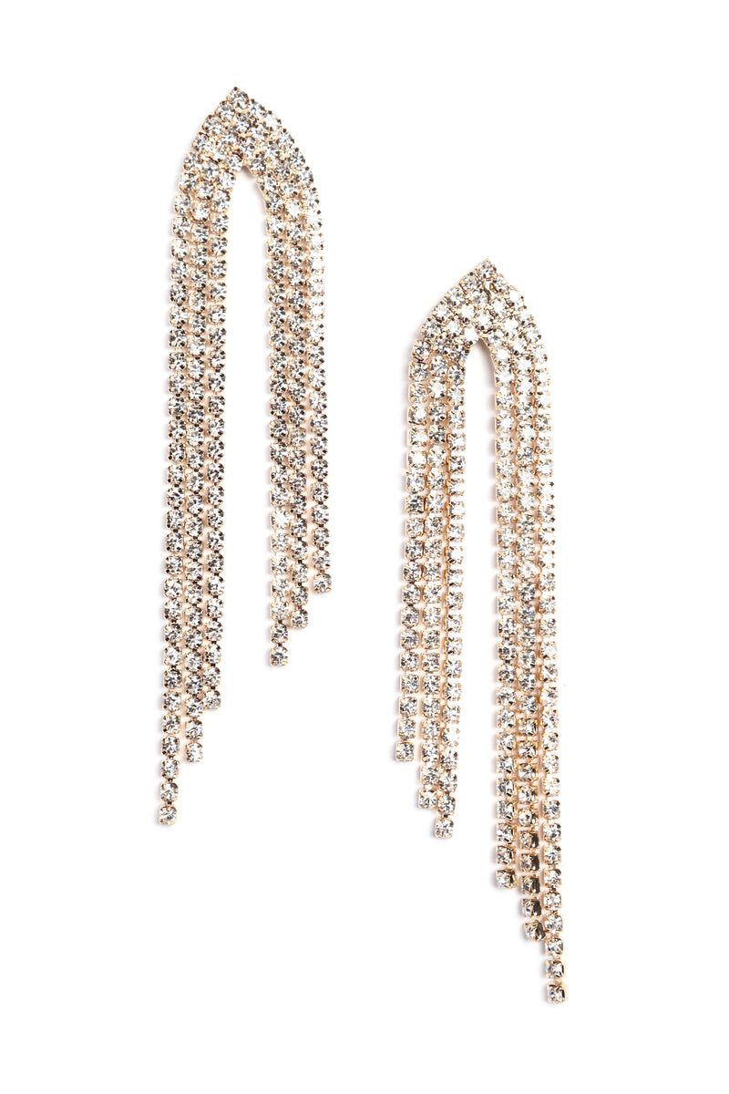 Drip Like This Earrings - Gold
