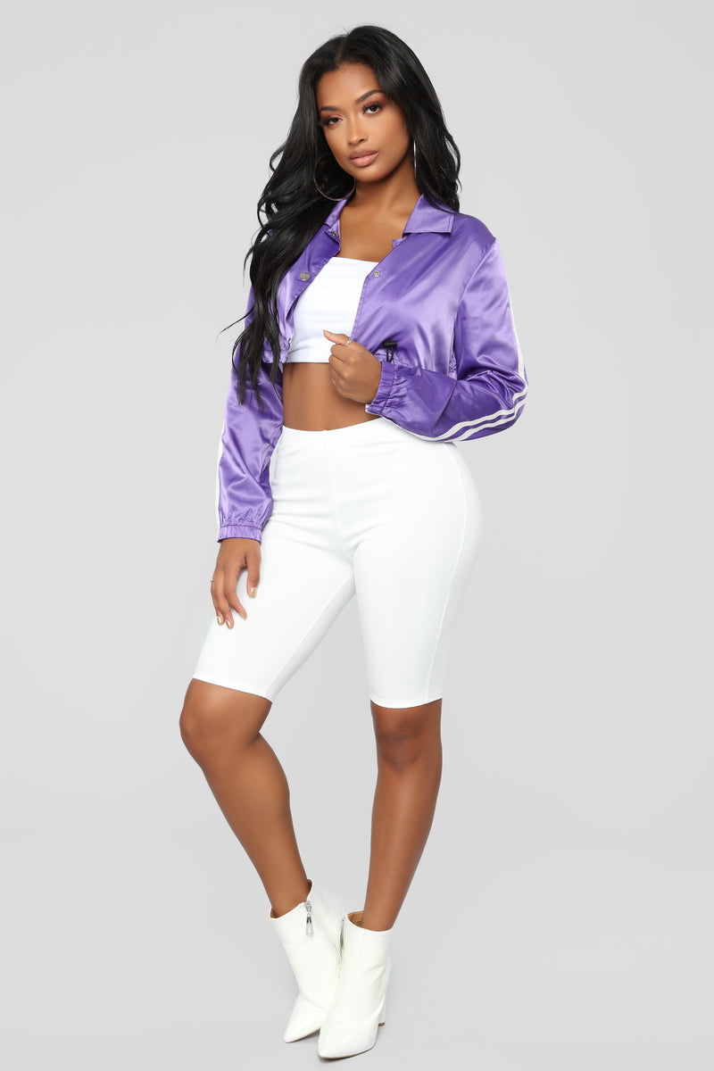 Since When Windbreaker Jacket - Purple