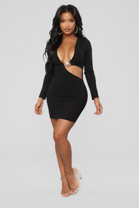 Pick Me Up Dress - Black