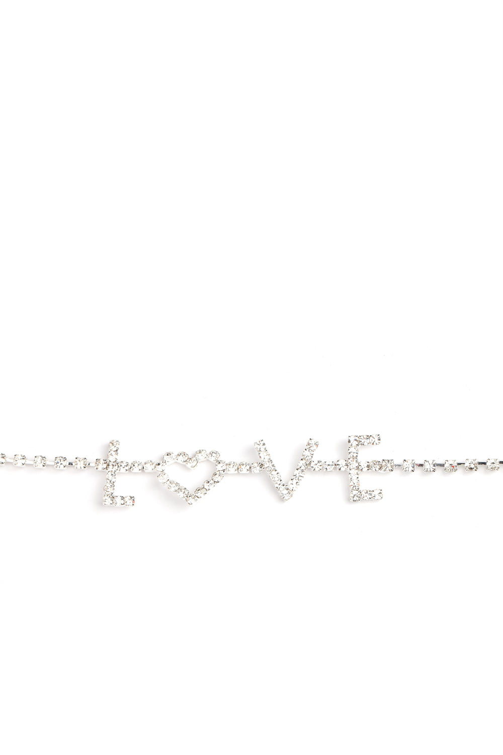 Don't You Just Love Anklet - Silver