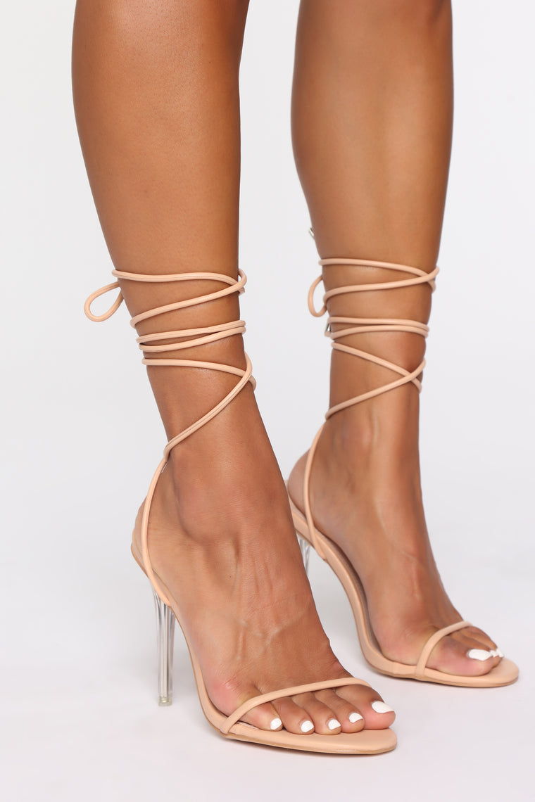 Admiration Heeled Sandals - Nude