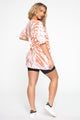 Fluent In Fashion Tunic Top - Rust Combo