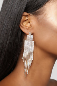 Have No Tiers For You Earrings - Gold