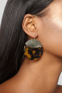 As Pur Usual Earrings - Leopard