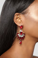 Zero Tears Earrings - Red