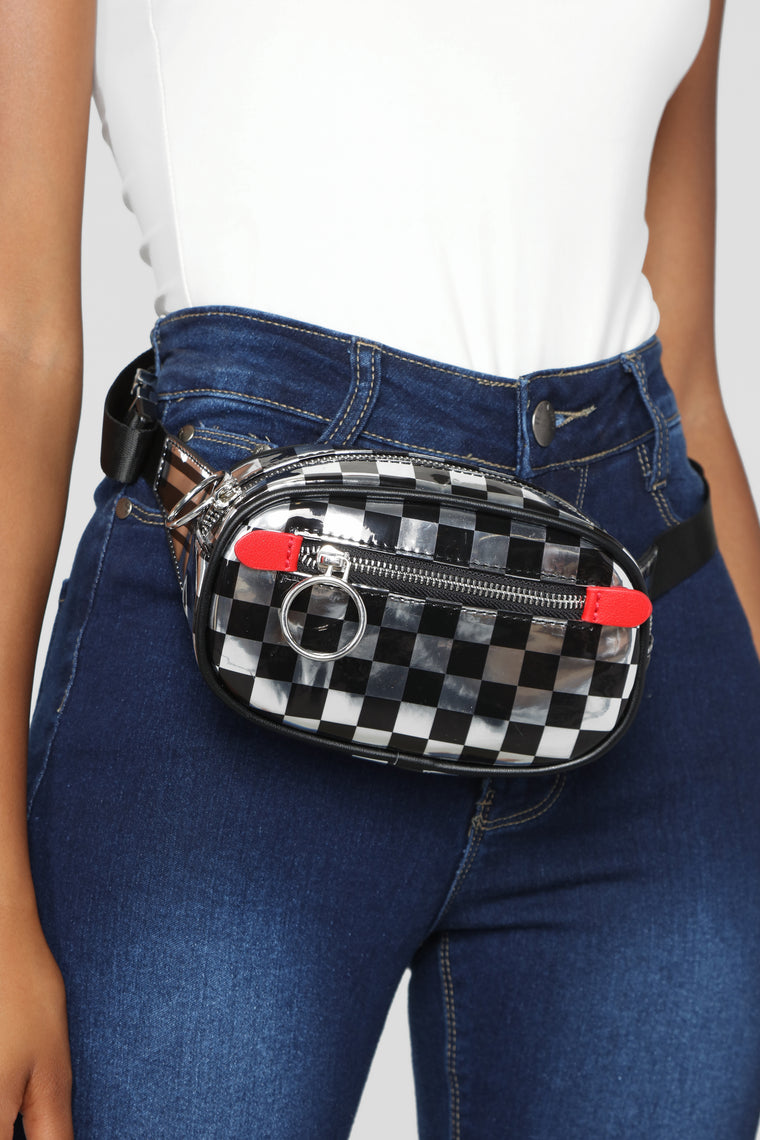 Check You Fanny Pack - Silver