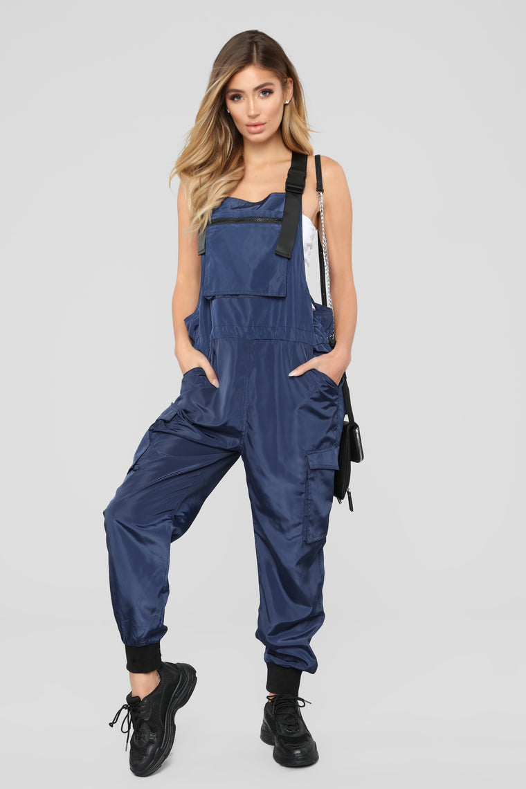 It's Complicated Jumpsuit   Navy by Fashion Nova