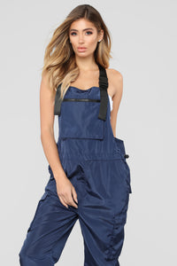 It's Complicated Jumpsuit - Navy