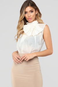 Out Of Work Blouse - Ivory