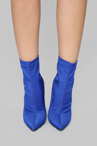 In The Muse Bootie - Blue Angle 3