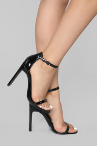 Better In Time Heel - Black