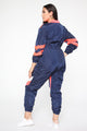 Love Like Yours Jumpsuit - Navy/Combo
