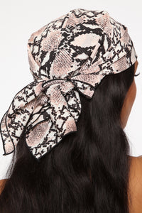 Sssoo What's Up Head Scarf - Blush Angle 1