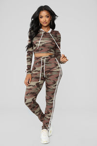 Camo Tennis Courts II Set - Olive